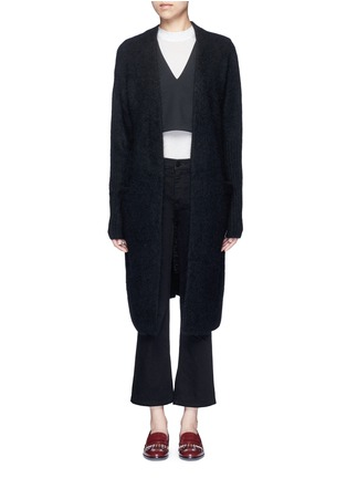 Main View - Click To Enlarge - Acne Studios - 'Raya' kimono sleeve mohair blend cardigan