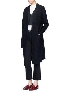 ACNE STUDIOS'Raya' kimono sleeve mohair blend cardigan