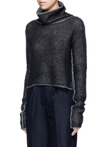 'Vasya' mohair blend turtleneck sweater