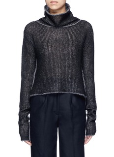 Acne Studios'Vasya' mohair blend turtleneck sweater