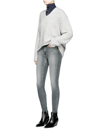 Figure View - Click To Enlarge - Acne Studios - Skin 5' skinny jeans