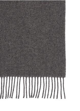 细节 - 点击放大 - ACNE STUDIOS - Canada单色初剪羊毛围巾