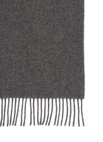 'Canada' virgin wool narrow scarf