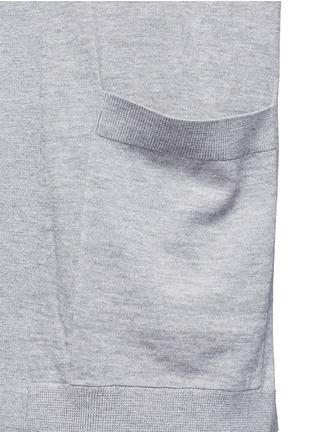 Detail View - Click To Enlarge - Acne Studios - 'Corta' Merino wool cardigan