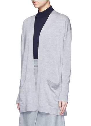 Front View - Click To Enlarge - Acne Studios - 'Corta' Merino wool cardigan
