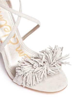 Detail View - Click To Enlarge - Sam Edelman - 'Aisha' fringe suede sandals
