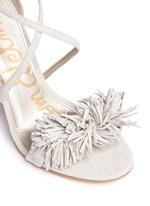 'Aisha' fringe suede sandals