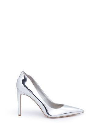 Sam Edelman - 'Dea' snake effect trim metallic pumps