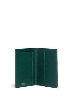 Globe-TrotterSaffiano leather passport holder