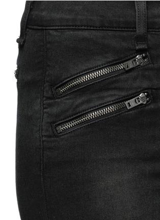 rag & bone/JEAN-High waist biker denim pants