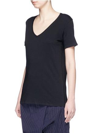Front View - Click To Enlarge - rag & bone/JEAN - 'Base' V-neck T-shirt