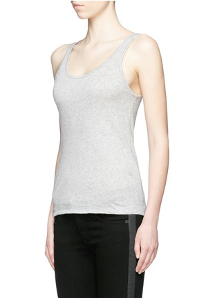 Front View - Click To Enlarge - rag & bone/JEAN - 'Base' Pima cotton tank top