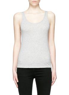 rag & bone/JEAN'Base' Pima cotton tank top