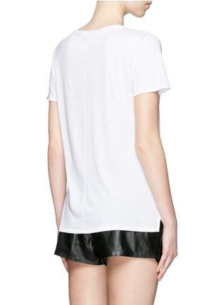 Back View - Click To Enlarge - rag & bone/JEAN - 'X Boyfriend' chest pocket Pima cotton T-shirt