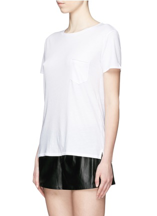 Front View - Click To Enlarge - rag & bone/JEAN - 'X Boyfriend' chest pocket Pima cotton T-shirt