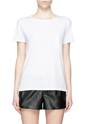 Main View - Click To Enlarge - rag & bone/JEAN - 'X Boyfriend' chest pocket Pima cotton T-shirt