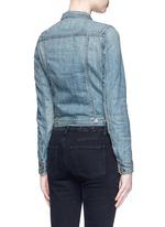 'The Jean' cropped denim jacket