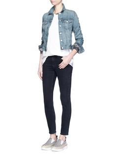 RAG & BONE/JEAN'The Jean' cropped denim jacket