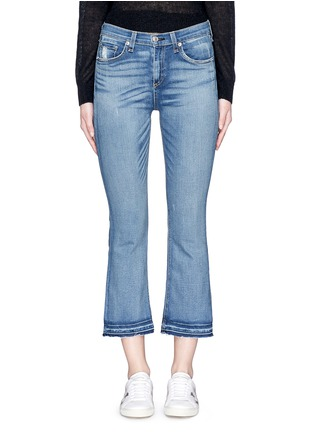 Detail View - Click To Enlarge - rag & bone/JEAN - '10 Inch Crop' straight leg cropped jeans