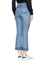 '10 Inch Crop' straight leg cropped jeans
