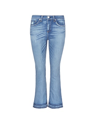 Main View - Click To Enlarge - rag & bone/JEAN - '10 Inch Crop' straight leg cropped jeans