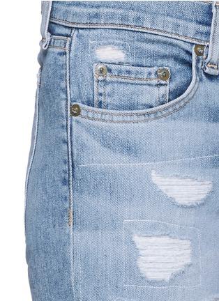 细节 - 点击放大 - RAG & BONE/JEAN - THE DRE水洗磨破牛仔裤