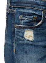 'The Dre' distressed slim boyfriend jeans