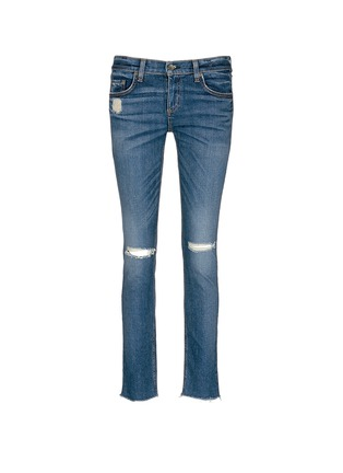 Main View - Click To Enlarge - rag & bone/JEAN - 'The Dre' distressed slim boyfriend jeans