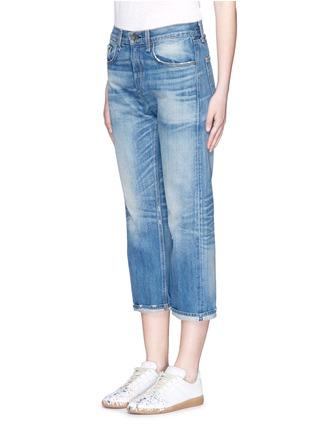 Front View - Click To Enlarge - rag & bone/JEAN - 'Marilyn Crop' boyfriend jeans