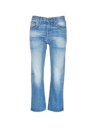 首图 - 点击放大 - RAG & BONE/JEAN - 水洗磨破八分牛仔裤