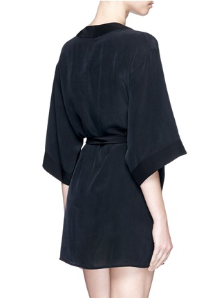 Back View - Click To Enlarge - Kiki De Montparnasse - 'Perfect' silk combo robe