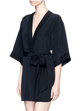 Figure View - Click To Enlarge - Kiki De Montparnasse - 'Perfect' silk combo robe