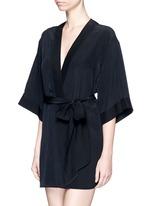 'Perfect' silk combo robe
