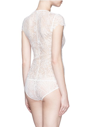 Back View - Click To Enlarge - Kiki De Montparnasse - 'Coquette' lace bodysuit