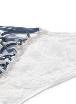 'Coquette' lace corset panty
