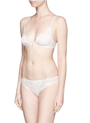 Figure View - Click To Enlarge - Kiki De Montparnasse - 'Coquette' lace corset panty