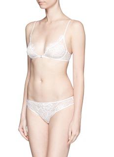 Kiki De Montparnasse'Coquette' lace corset panty