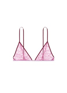 Kiki De Montparnasse'Ingenue' Leavers lace soft triangle bra