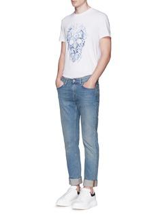Alexander McQueenPorcelain skull print T-shirt