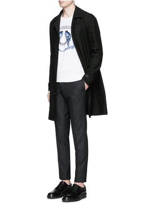 Figure View - Click To Enlarge - Alexander McQueen - Bird embroidery sweatshirt