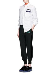 TOGA ARCHIVESGlossy stripe sweatpants
