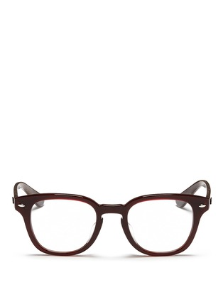Main View - Click To Enlarge - Ray-Ban - Square frame acetate optical glasses