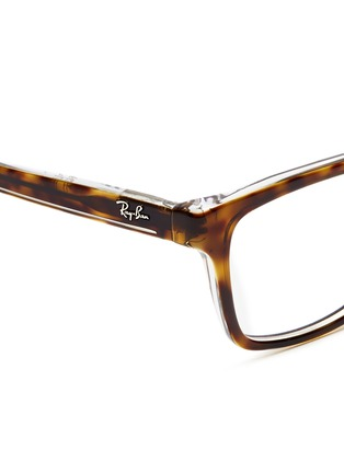 Detail View - Click To Enlarge - Ray-Ban - Tortoiseshell junior acetate optical glasses