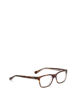 Figure View - Click To Enlarge - Ray-Ban - Tortoiseshell junior acetate optical glasses