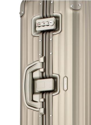 Detail View - Click To Enlarge - RIMOWA - Topas Titanium Multiwheel® (Titanium, 64-litre)