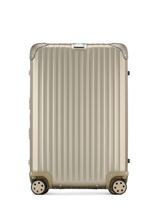 Main View - Click To Enlarge - RIMOWA - Topas Titanium Multiwheel® (Titanium, 64-litre)