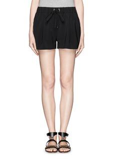 ELIZABETH AND JAMESDarnell elasticated waistband shorts