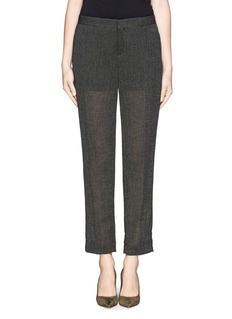 THEORY Padgette eyelet knit pants
