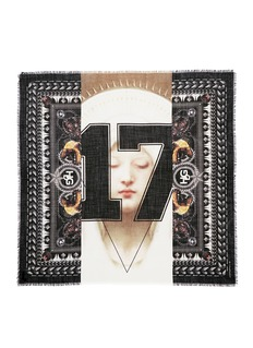 GIVENCHY 'Madonna 17' wool scarf