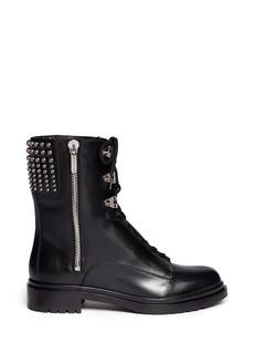 SERGIO ROSSIStud leather biker boots